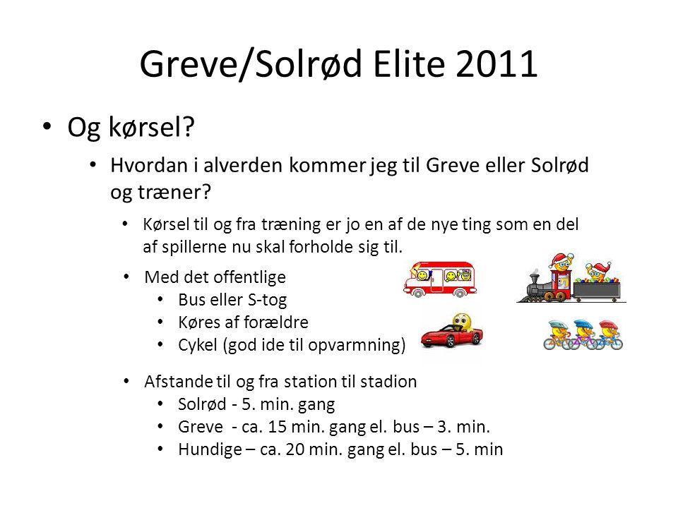 Greve/Solrød Elite 2011 Og kørsel.