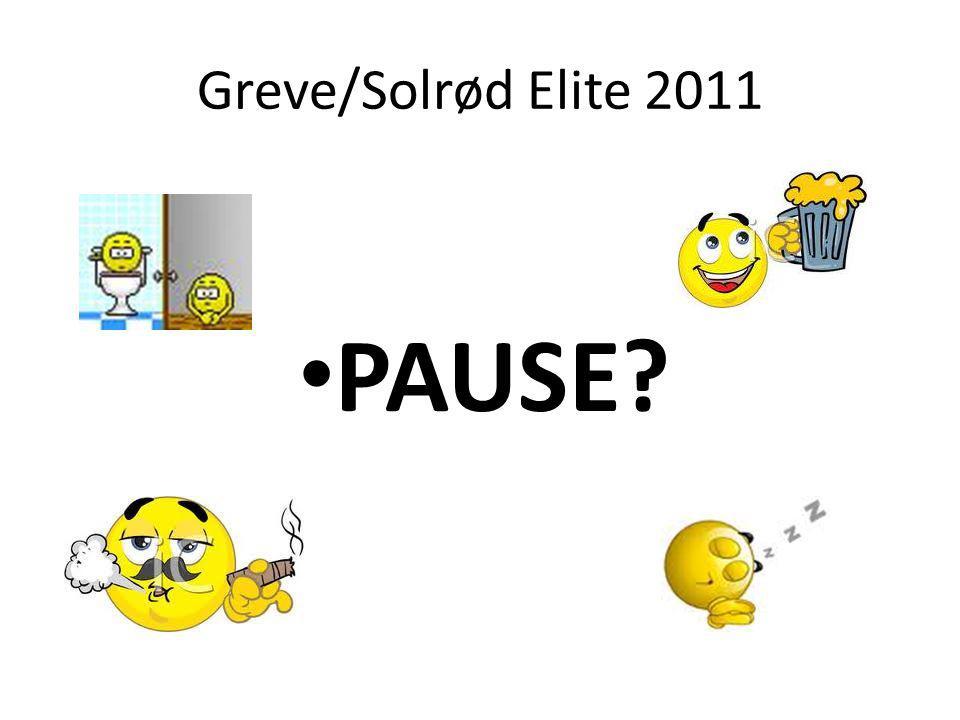 Greve/Solrød Elite 2011 PAUSE