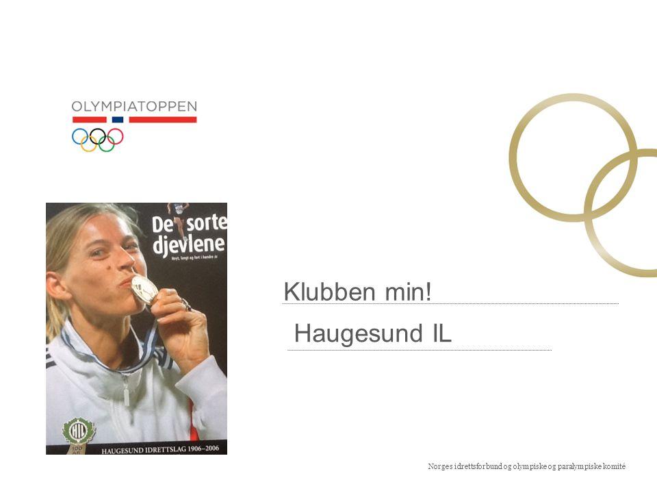 Norges idrettsforbund og olympiske og paralympiske komité Klubben min.