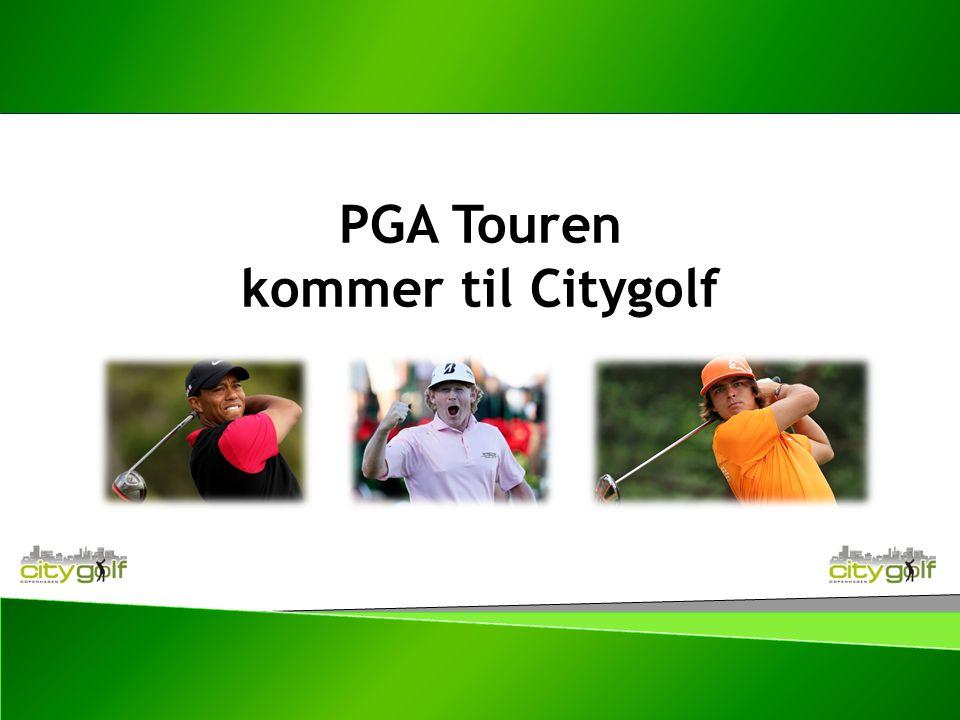 PGA Touren kommer til Citygolf
