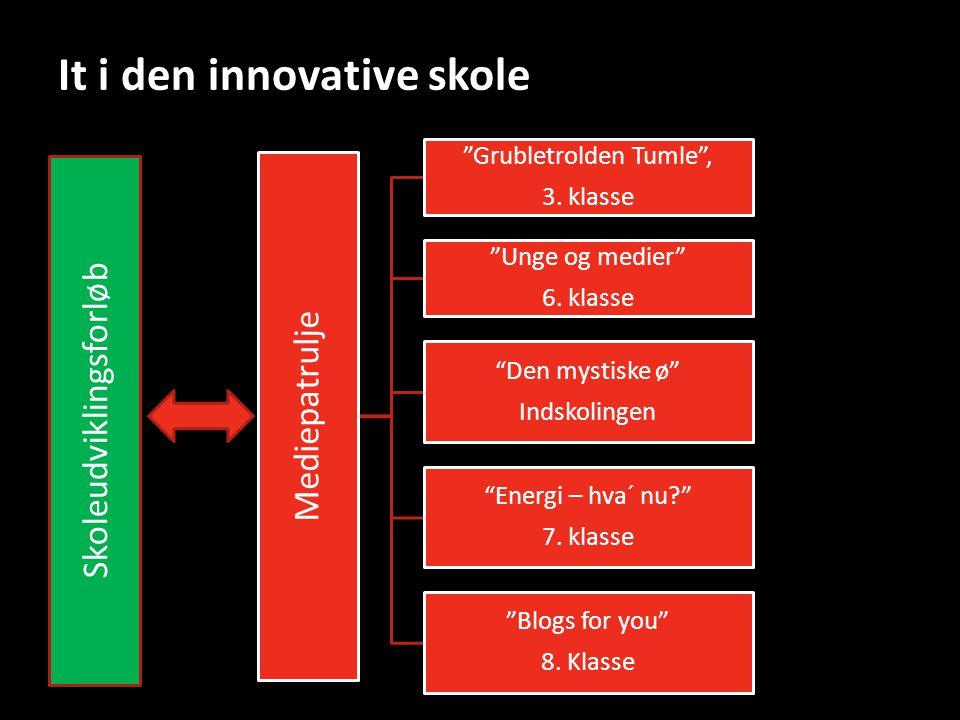 It i den innovative skole Mediepatrulje Grubletrolden Tumle , 3.