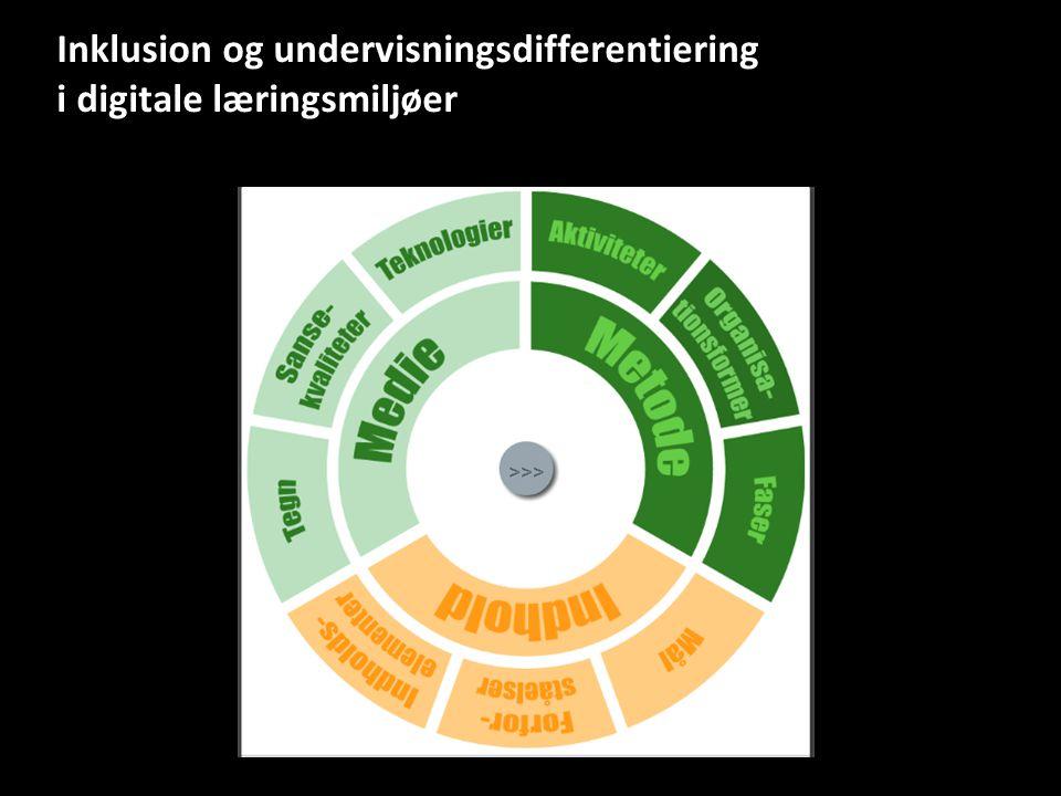 Inklusion og undervisningsdifferentiering i digitale læringsmiljøer