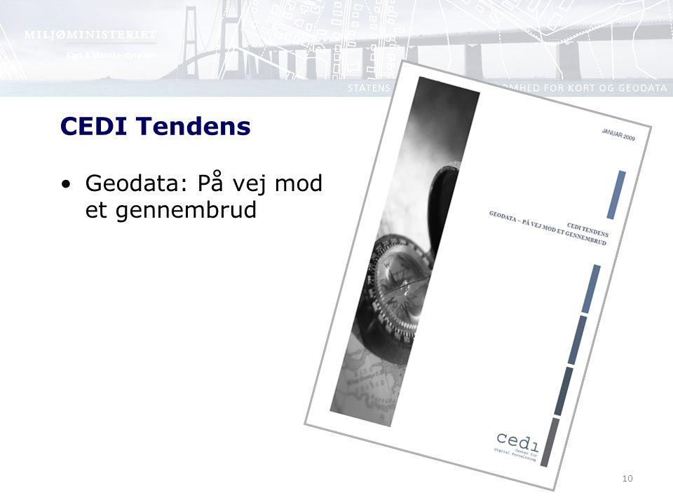 10 CEDI Tendens Geodata: På vej mod et gennembrud