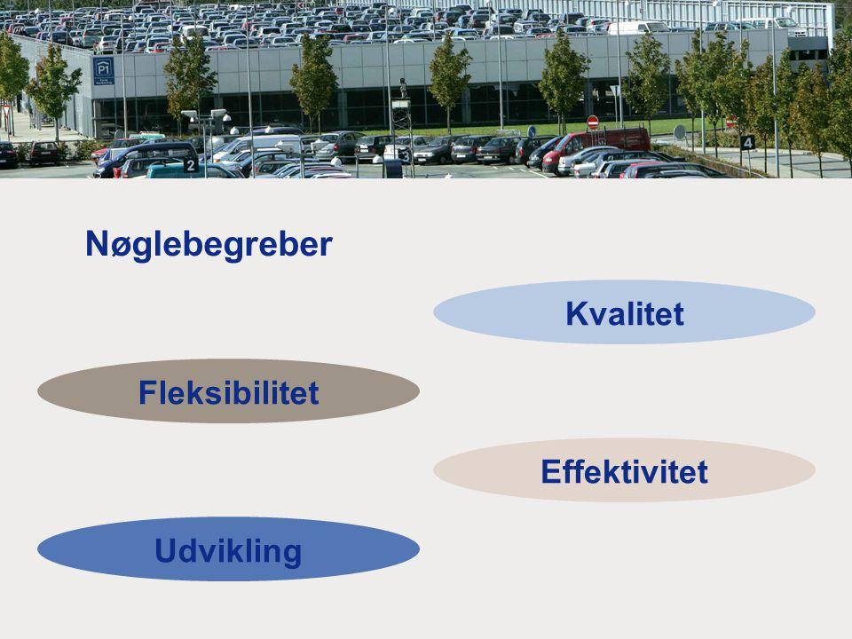 Kvalitet Fleksibilitet Effektivitet Udvikling Nøglebegreber