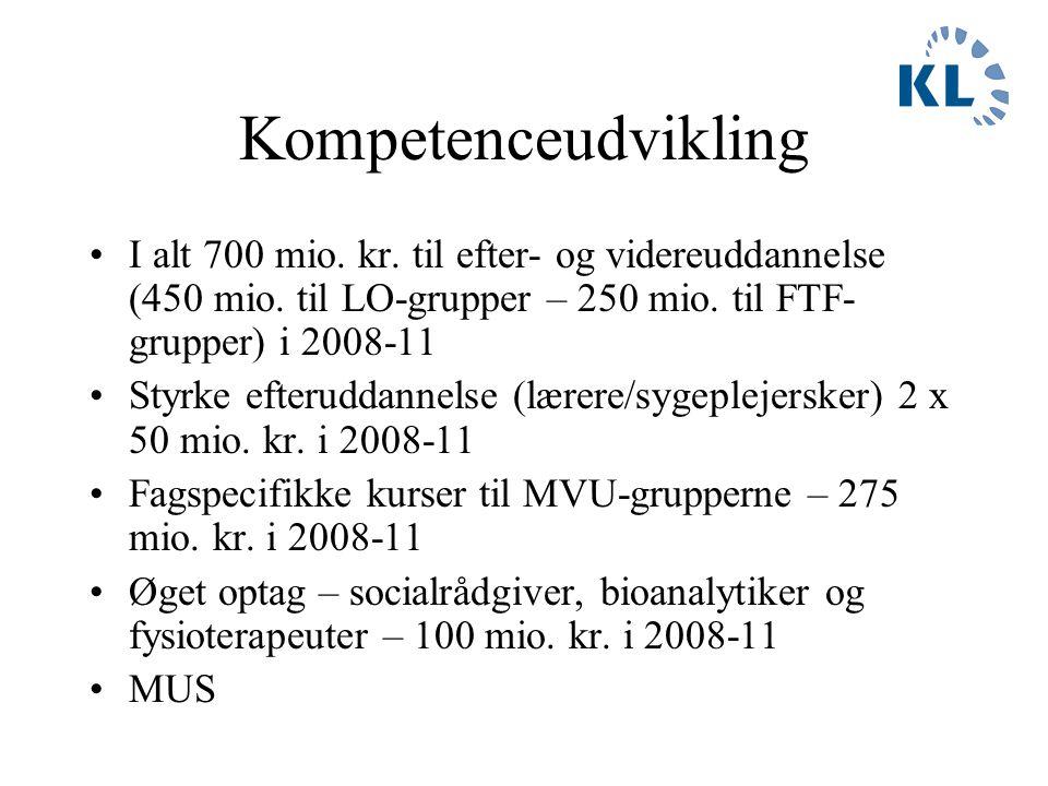 3-partsaftale og HR-ledelse Rekrutteringsinitiativer - øget optag på social- og sundhedsuddannelser m.fl.