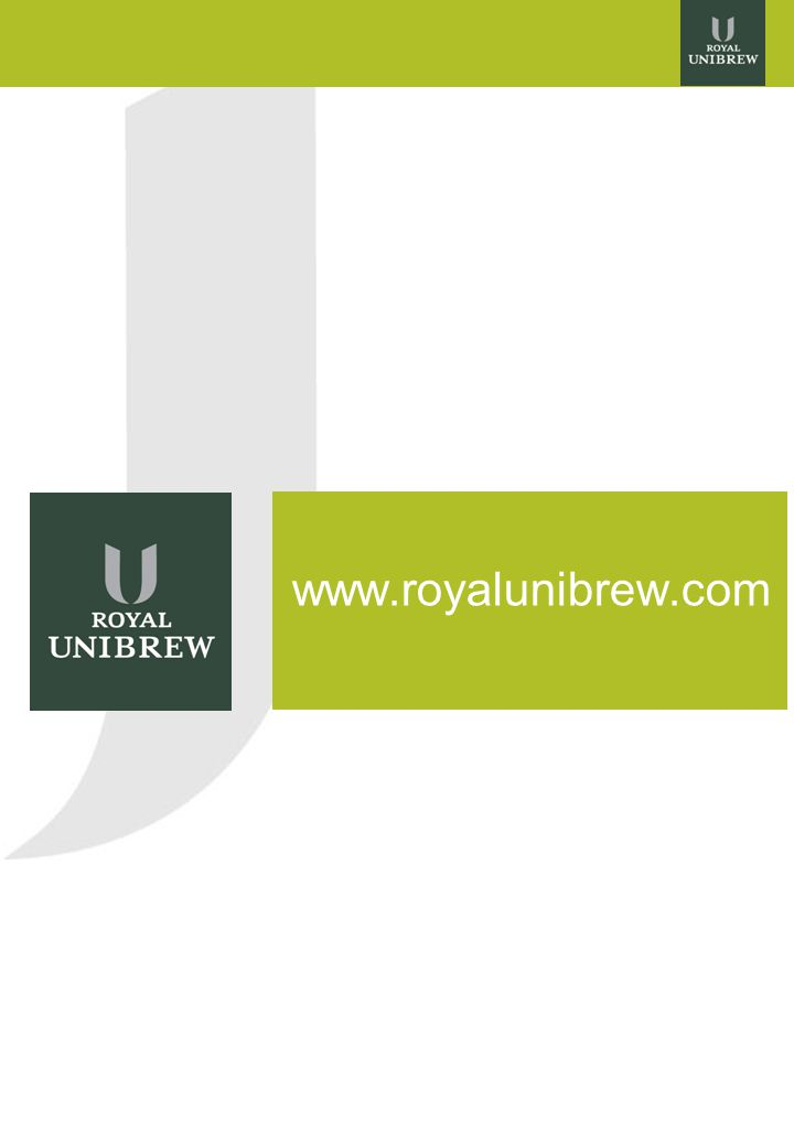 13 www.royalunibrew.com