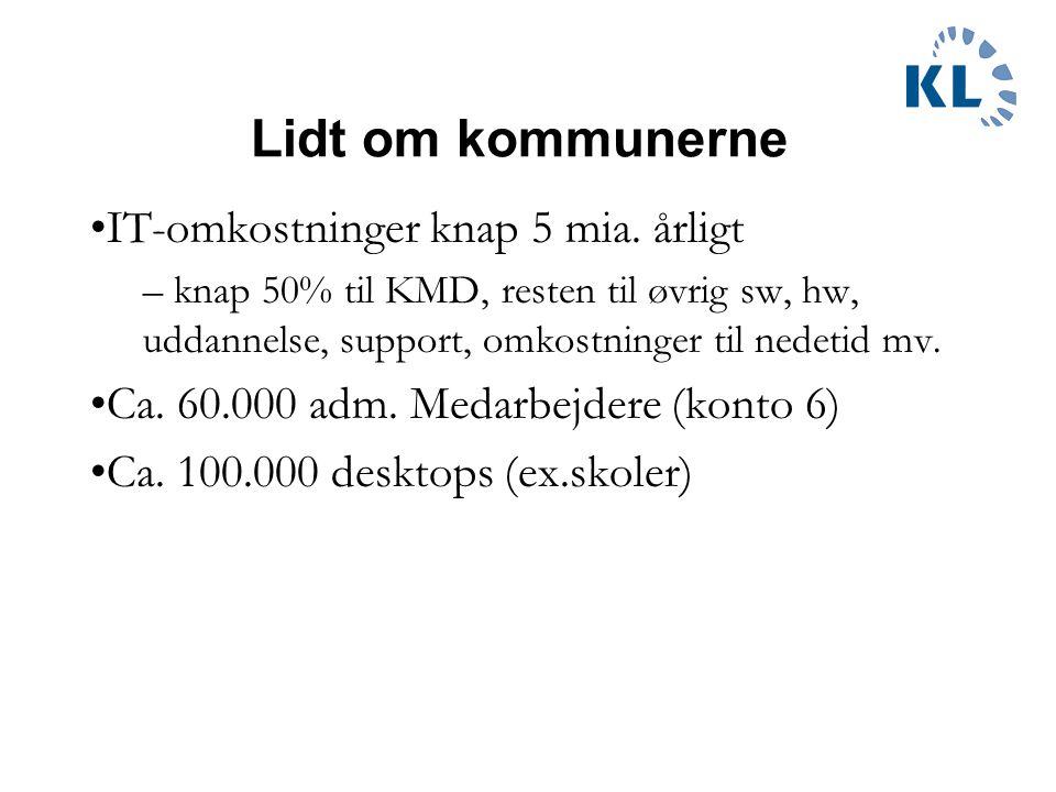 Lidt om kommunerne IT-omkostninger knap 5 mia.