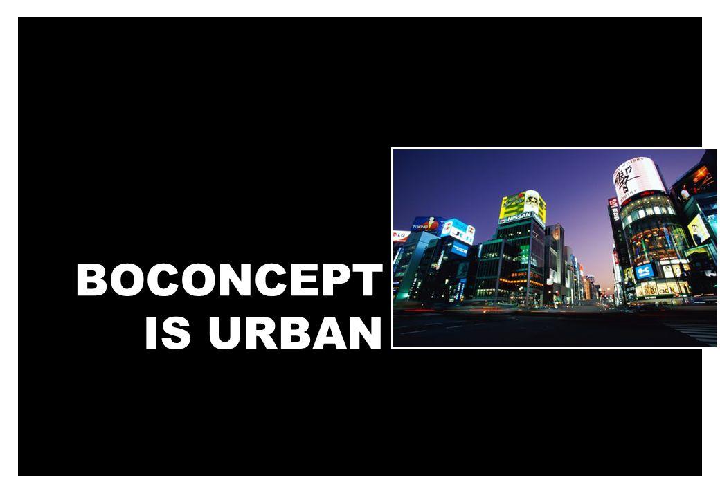 BOCONCEPT IS URBAN