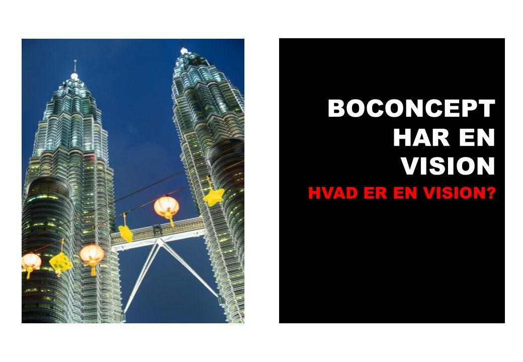BOCONCEPT HAR EN VISION HVAD ER EN VISION