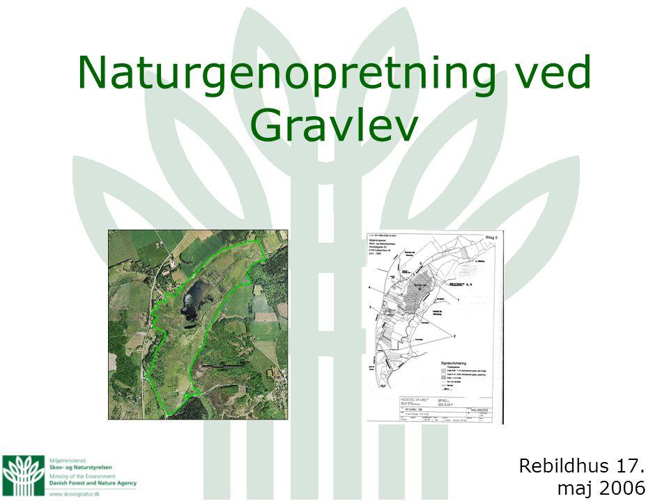 Naturgenopretning ved Gravlev Rebildhus 17. maj 2006
