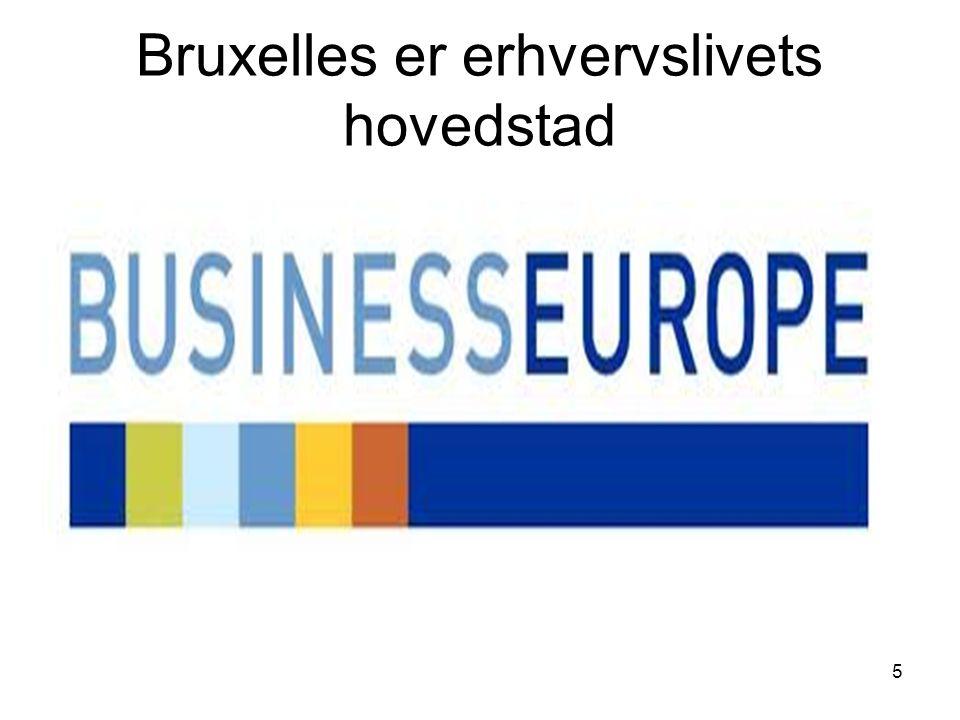 Bruxelles er erhvervslivets hovedstad 5