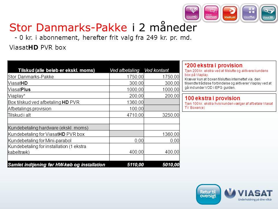 ViasatHD PVR box *200 ekstra i provision. Tjen 200 kr.