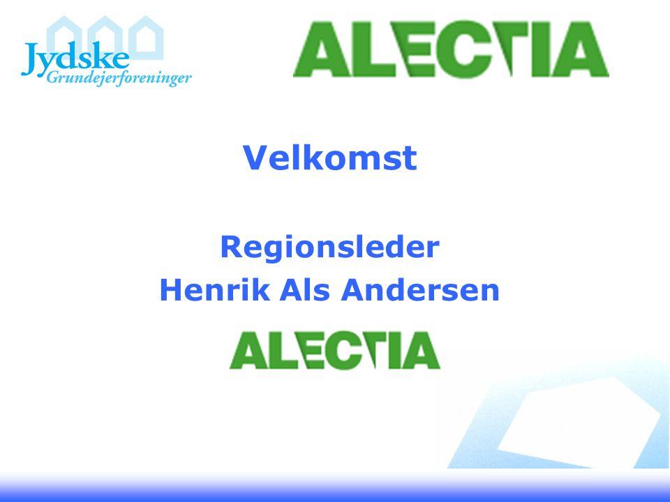 Velkomst Regionsleder Henrik Als Andersen