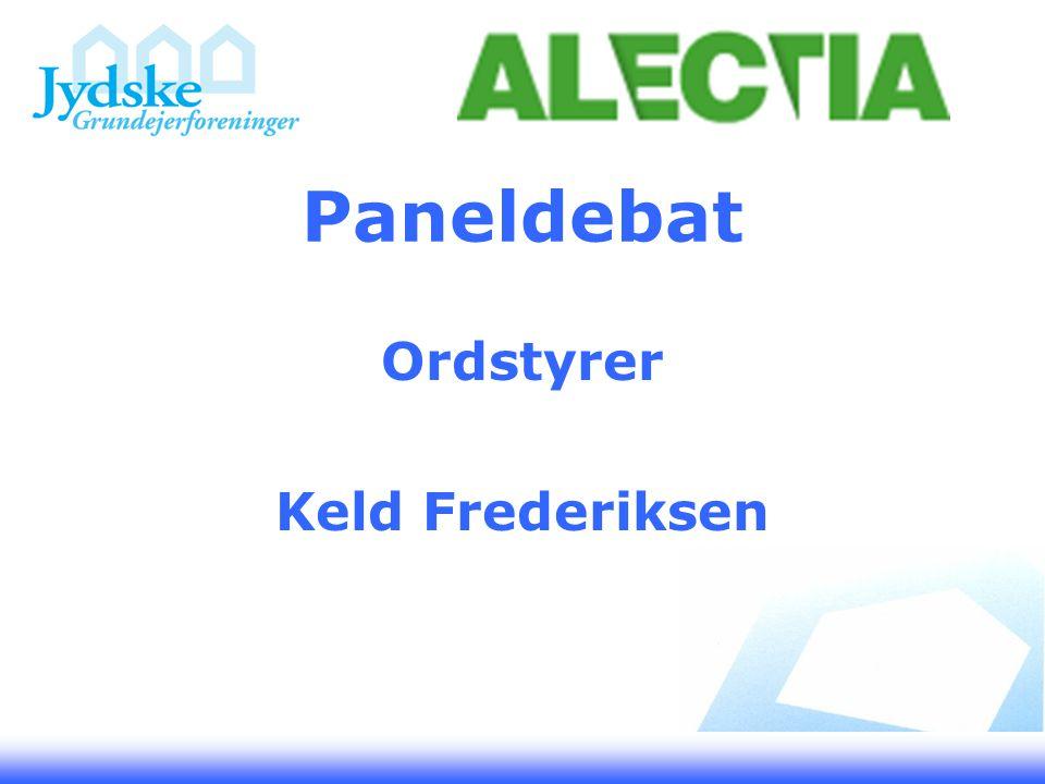 Paneldebat Ordstyrer Keld Frederiksen
