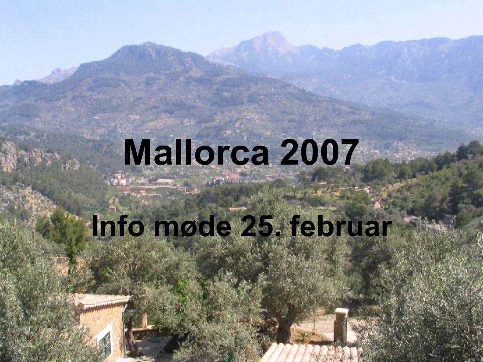 Mallorca 2007 Info møde 25. februar