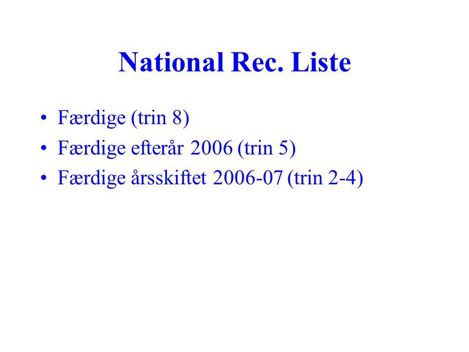 National Rec.