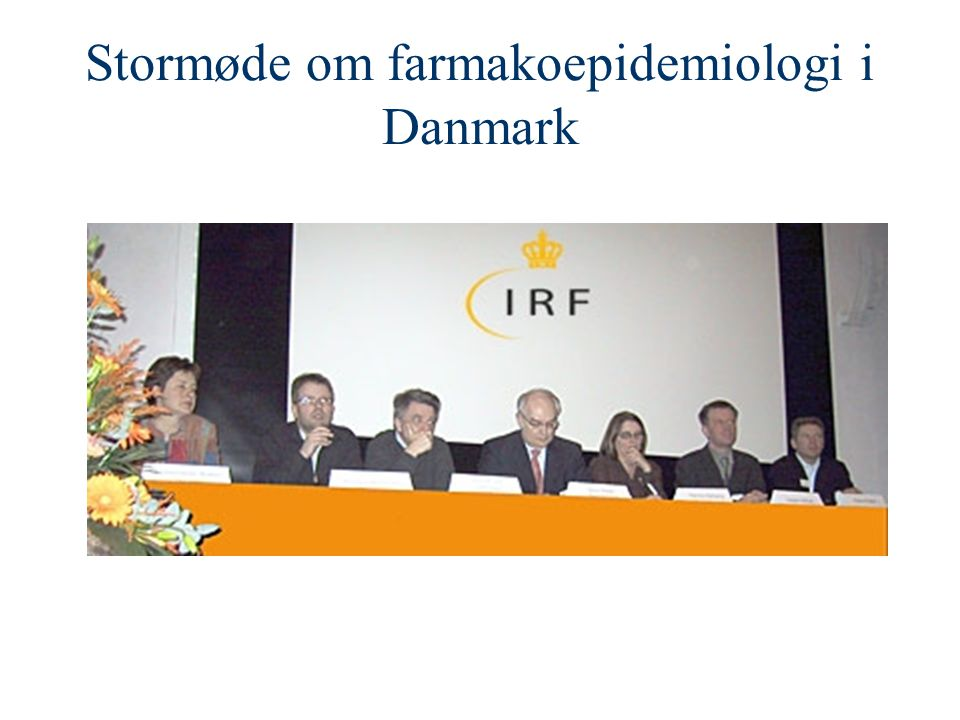 Stormøde om farmakoepidemiologi i Danmark