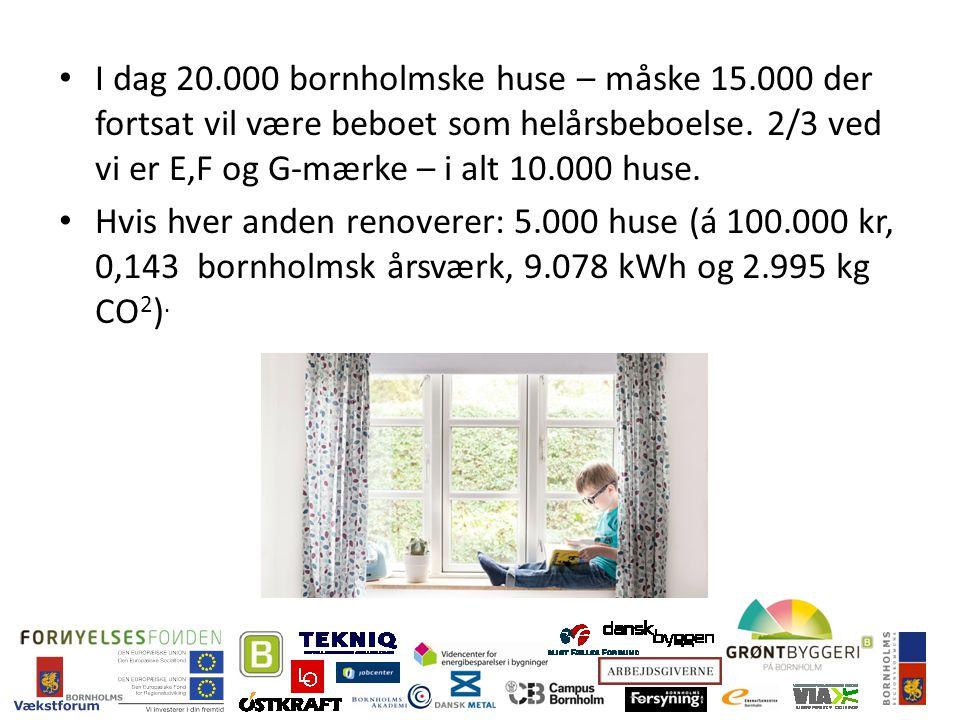 I dag 20.000 bornholmske huse – måske 15.000 der fortsat vil være beboet som helårsbeboelse.