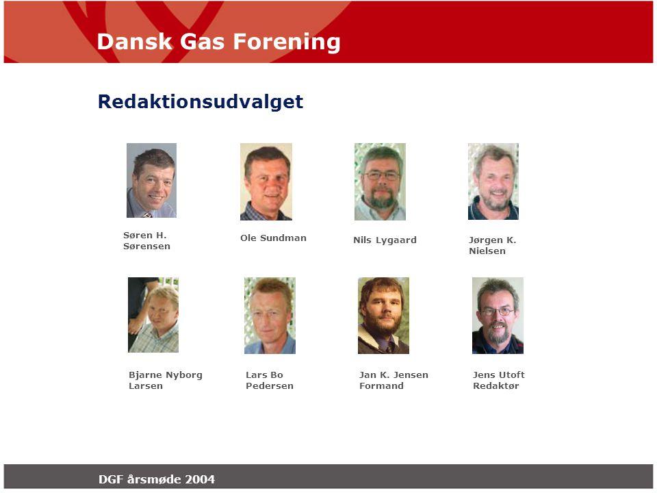 Dansk Gas Forening DGF årsmøde 2004 Jan K.