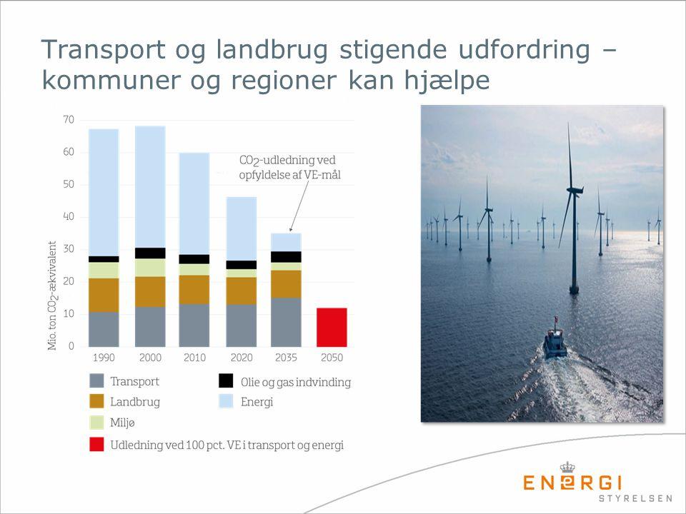 Transport og landbrug stigende udfordring – kommuner og regioner kan hjælpe