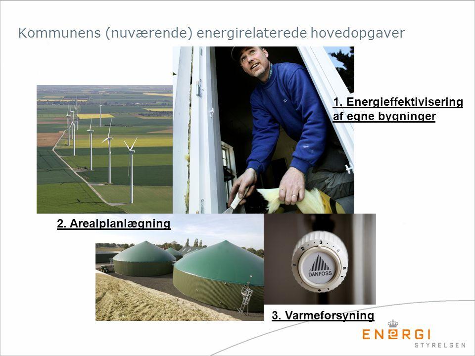 Kommunens (nuværende) energirelaterede hovedopgaver 2.