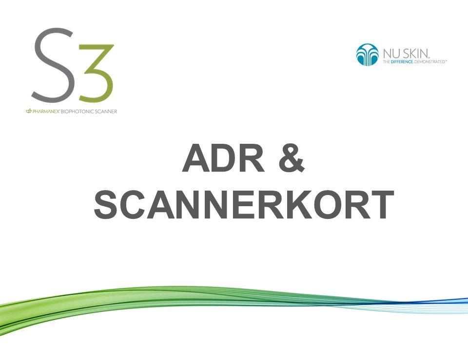 ADR & SCANNERKORT