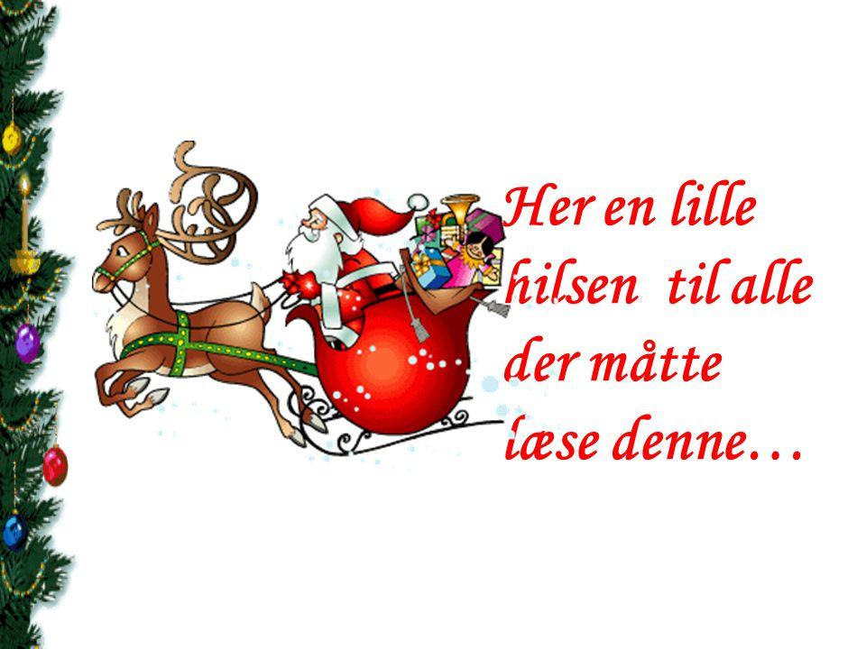 Rigtig God Jul og et lykkebringende nytår 2015