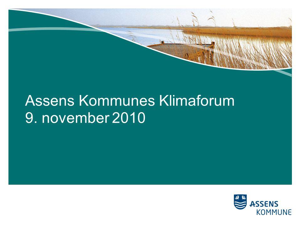 Assens Kommunes Klimaforum 9. november 2010