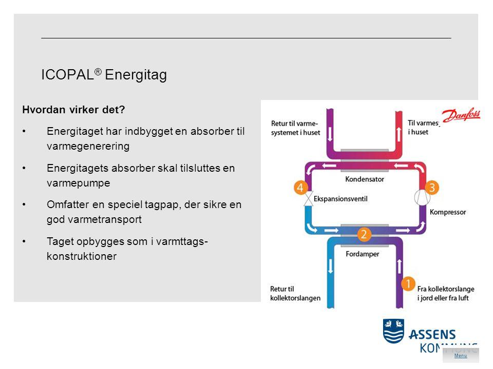ICOPAL ® Energitag Hvordan virker det.