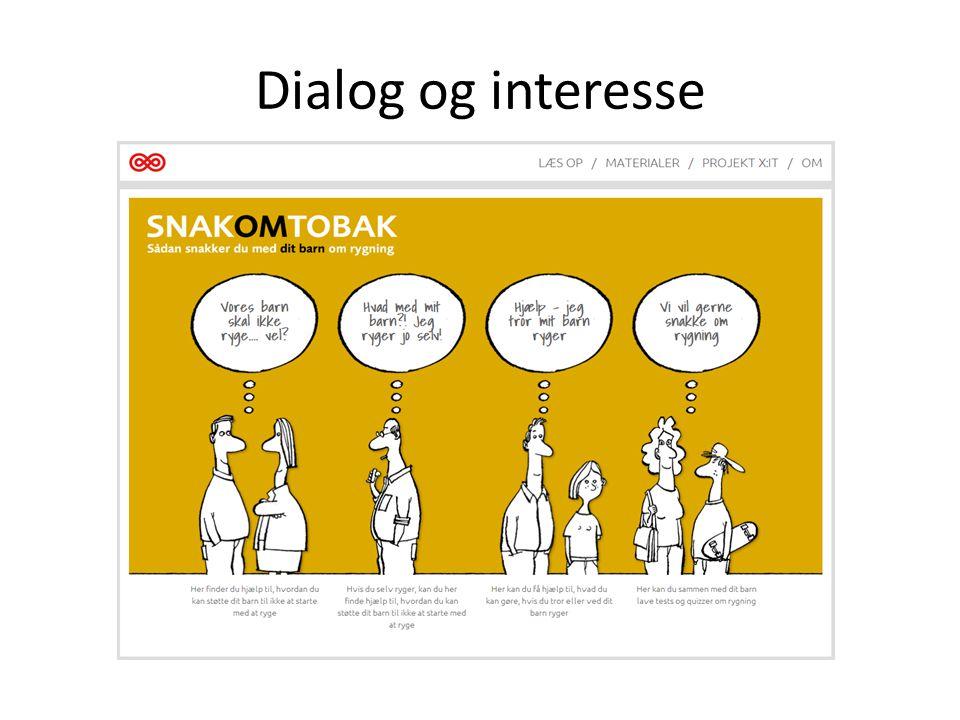 Dialog og interesse