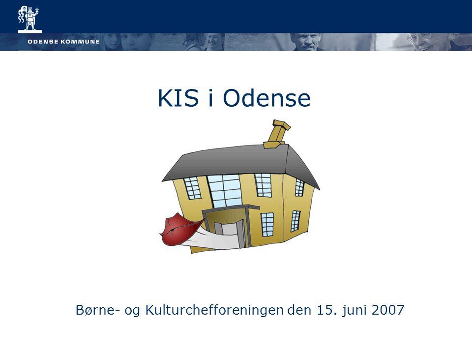 KIS i Odense Børne- og Kulturchefforeningen den 15. juni 2007