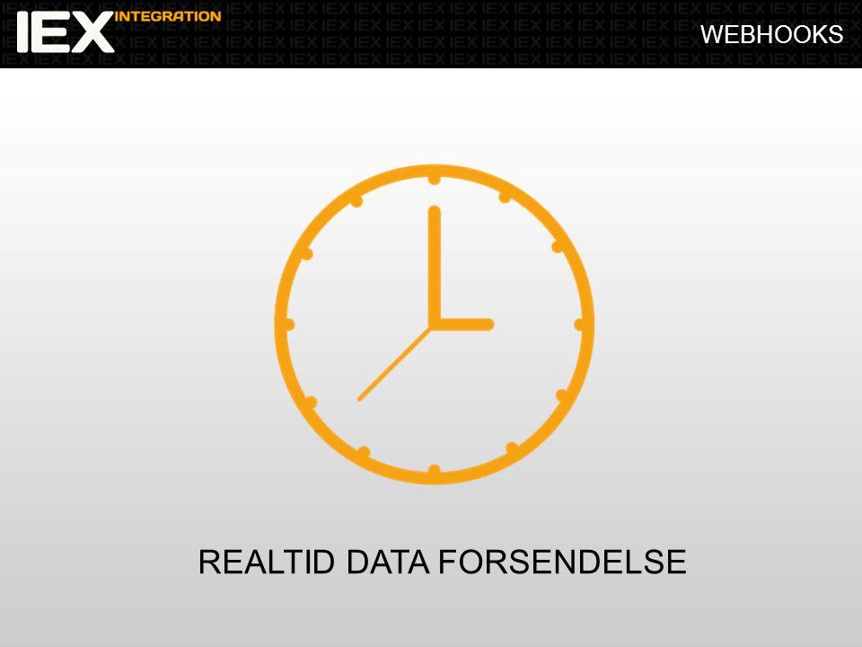 WEBHOOKS REALTID DATA FORSENDELSE