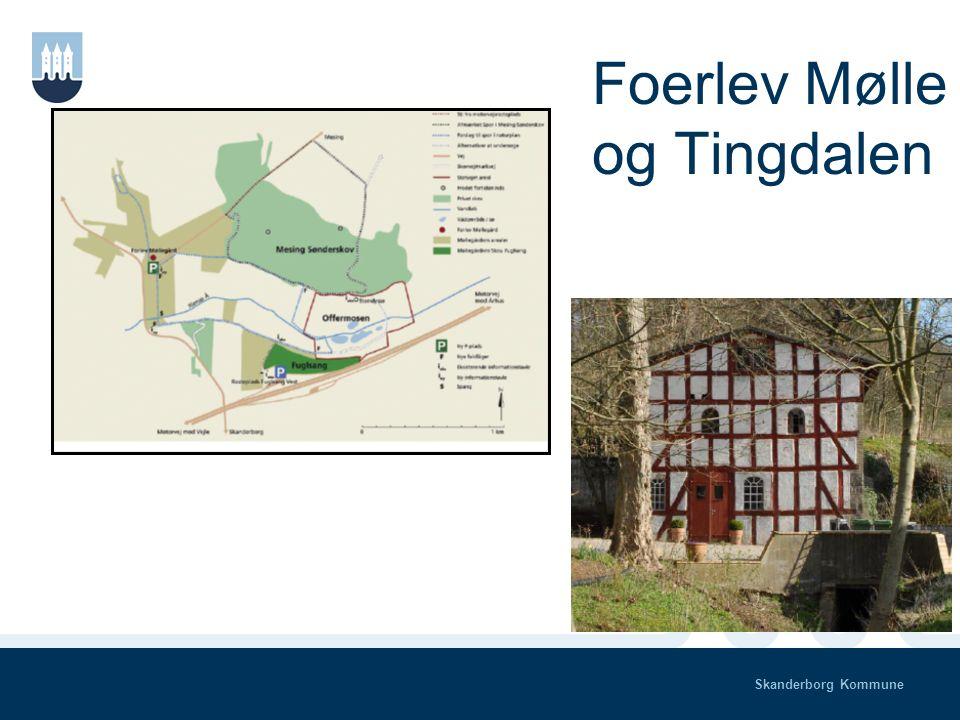 Skanderborg Kommune Illerup Å dal Flere projekter – flere historier Foerlev Mølle - Tingdalen – Offermosen NATUR – KULTUR - HISTORIE