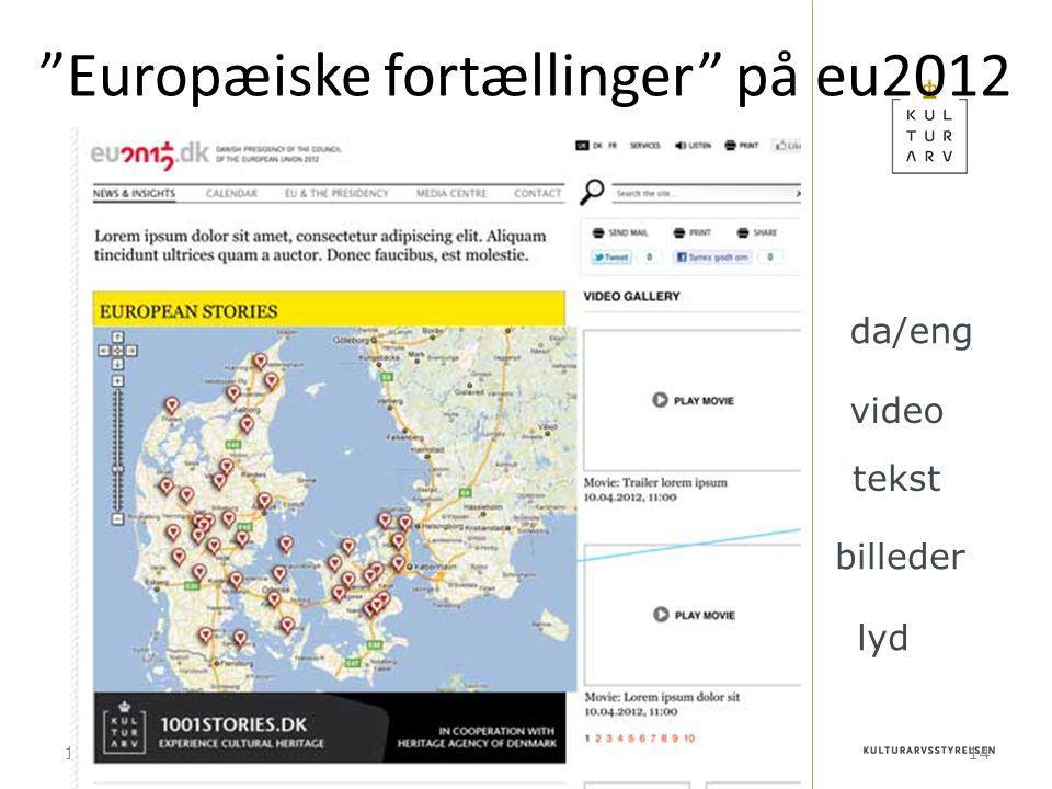 10-01-201514 Europæiske fortællinger på eu2012 video tekst billeder lyd da/eng
