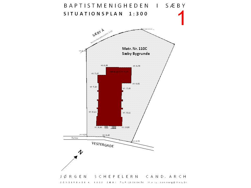 Matr. Nr. 110C Sæby Bygrunde