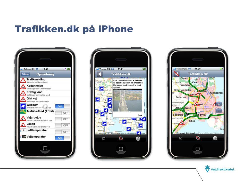Trafikken.dk på iPhone