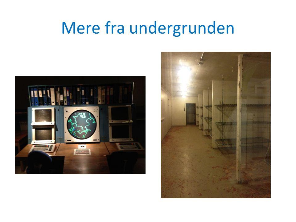 Mere fra undergrunden