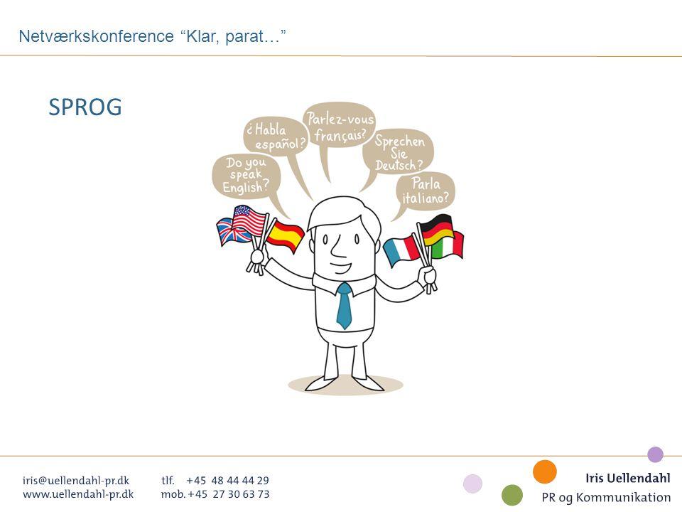 Netværkskonference Klar, parat… SPROG