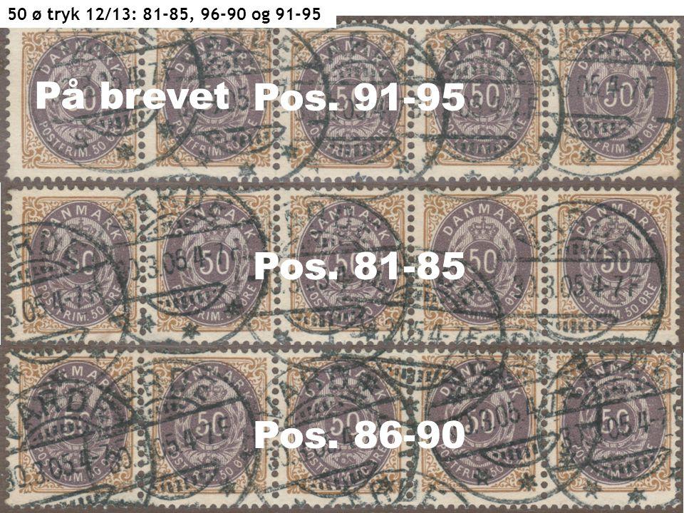 Pos. 91-95 Pos. 81-85 Pos. 86-90 50 ø tryk 12/13: 81-85, 96-90 og 91-95 På brevet