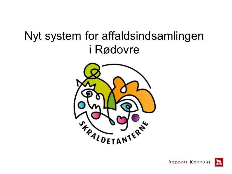 Nyt system for affaldsindsamlingen i Rødovre