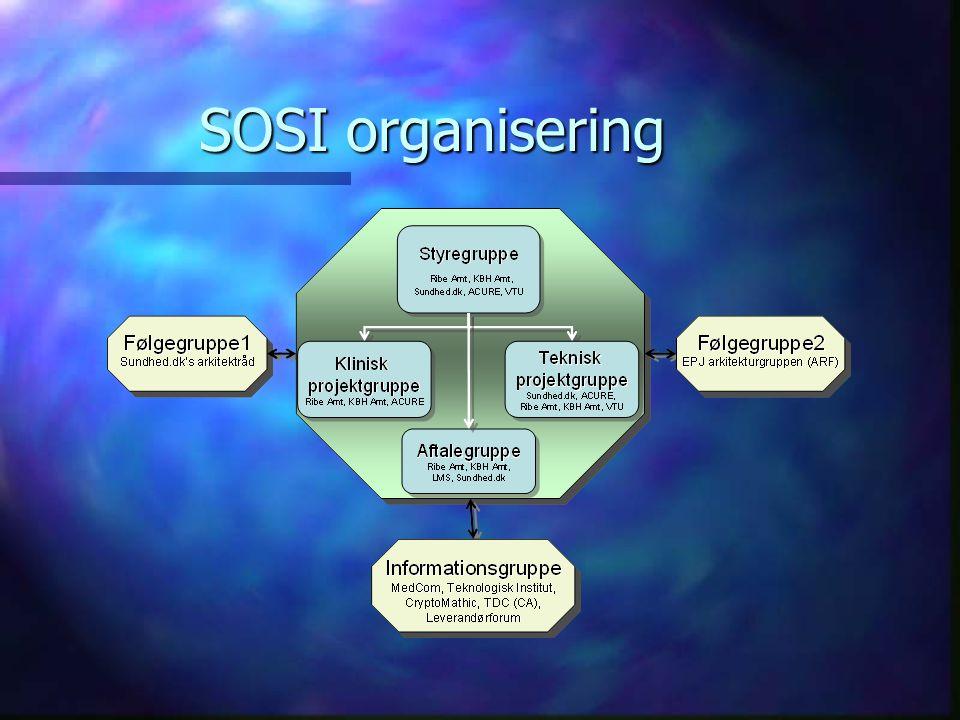 SOSI organisering