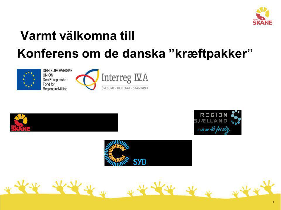 1 Varmt välkomna till Konferens om de danska kræftpakker