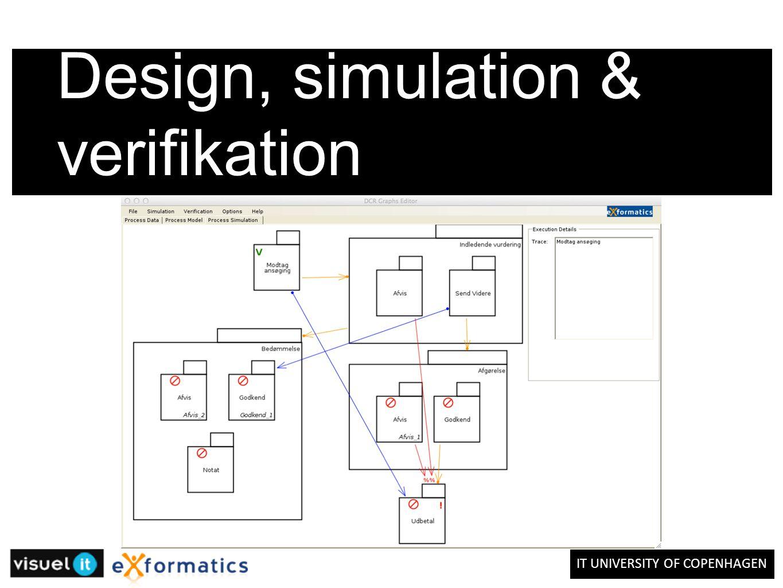 IT UNIVERSITY OF COPENHAGEN Design, simulation & verifikation