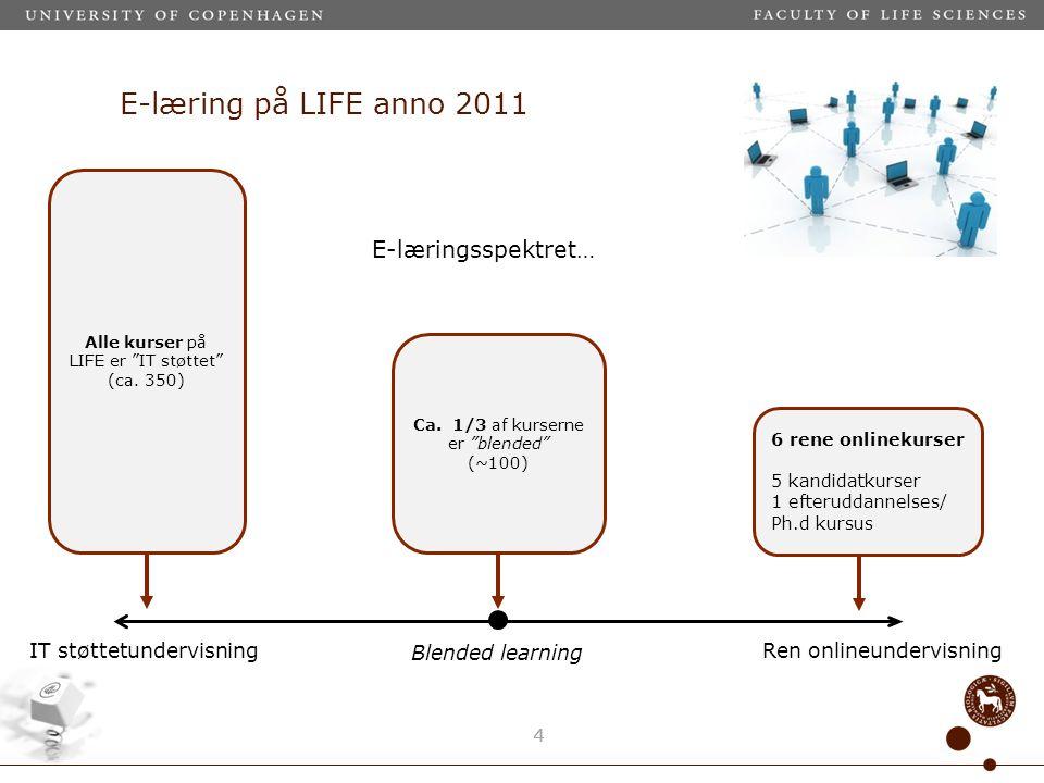 E-læring på LIFE anno 2011 44 Ca.