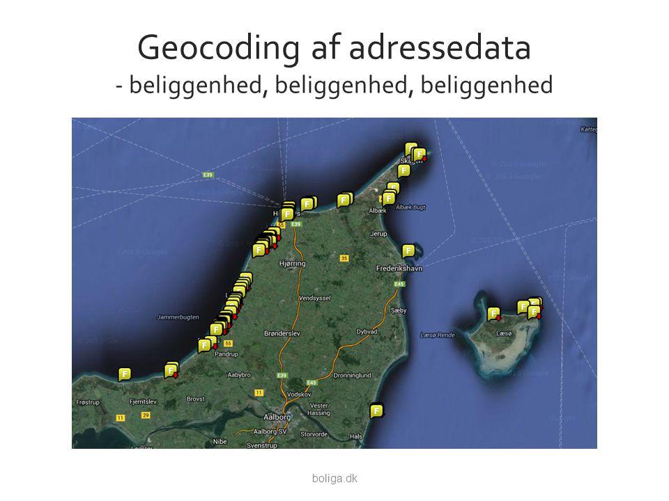 Geocoding af adressedata - beliggenhed, beliggenhed, beliggenhed boliga.dk