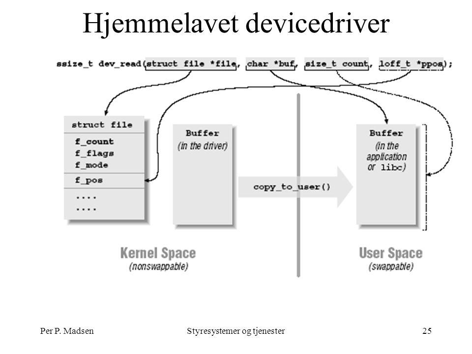 Per P. MadsenStyresystemer og tjenester25 Hjemmelavet devicedriver