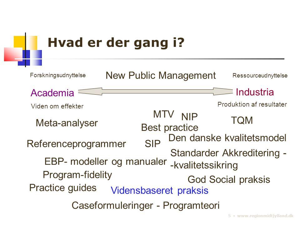 5 ▪ www.regionmidtjylland.dk Hvad er der gang i.