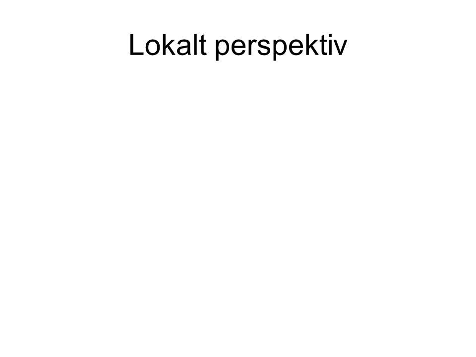 Lokalt perspektiv