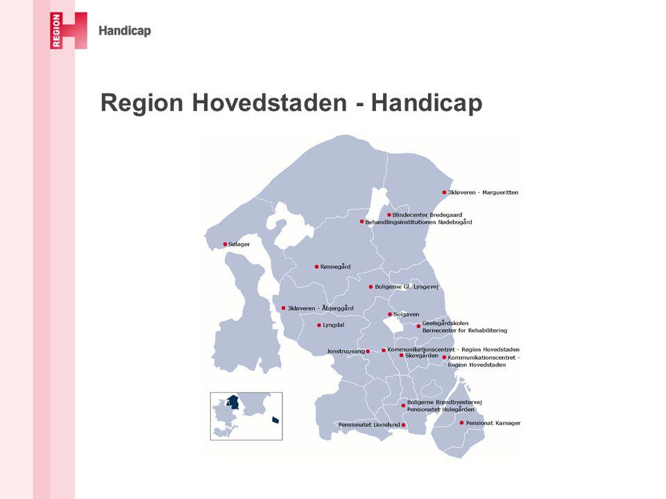 Region Hovedstaden - Handicap
