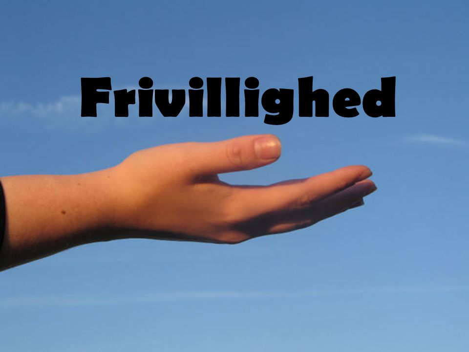 Frivillighed
